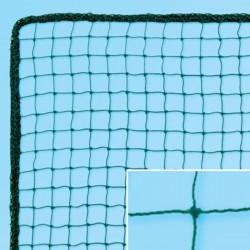 Labdafogóháló golfhoz 25x25 mm körkötött 1,5 mm zöld csomózott Sportszer FAR