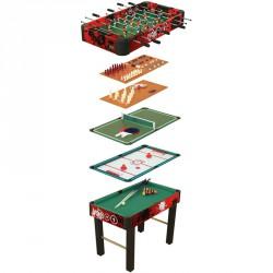 10 az 1-ben kombinált játék Hobbi csocsóasztal Spartan