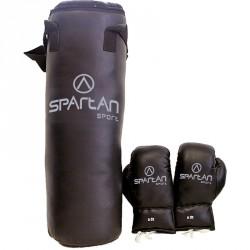 Boxzsák és kesztyű szett Sportszer Spartan