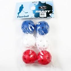 Floorball Labda 6 db Sportszer