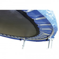 Fun 244 cm trambulin védőhálóval Közepes trambulin Spartan