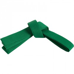Judo öv zöld Sportszer