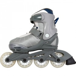 Soft Racer görkorcsolya szürke Sportszer Spartan