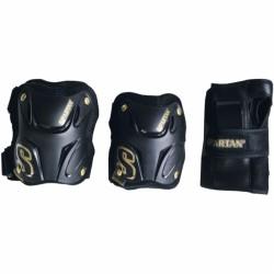 Street Gear II védőfelszerelés fekete Védőgarnitúrák Spartan