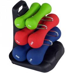 Súlyzókészlet 12 kg Sportszer Spartan