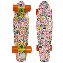Plastik Board 22.5 rózsaszín-fekete Sportszer Spartan