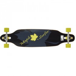 Longboard gördeszka Maple Surfer 38 Sportszer Spartan