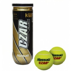 Nassau teniszlabda 3 db Sportszer Spartan