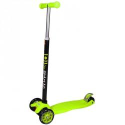 Roller Kick 4 kerekű zöld 3 kerekű roller Spartan