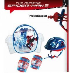 Védőfelszerelés szett Pókember sisakkal Sportszer Spartan