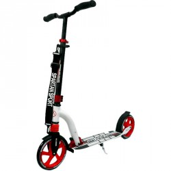 Roller Double Suspension felnőtt fehér-piros Roller Spartan