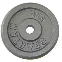 Súlytárcsa 2x2,50 kg Sportszer Spartan