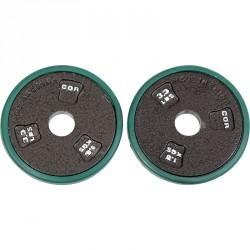 Gumiperemes súlytárcsa (1,5 kg) Sportszer