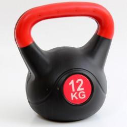 Kettlebell 12 kg műanyag Sportszer Spartan