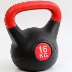 Kettlebell 16 kg műanyag Sportszer Spartan