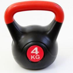 Kettlebell 4 kg műanyag Sportszer Spartan