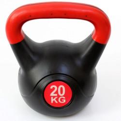 Kettlebell 20 kg műanyag Sportszer Spartan