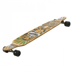Longboard gördeszka Drop Shape Indio Sportszer Spartan