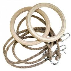 Kötélszáras gyűrűhinta vastag Sportszer Spartan
