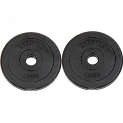 Cementes súlytárcsa 2 x 1,25 kg Sportszer Spartan