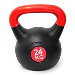 Kettlebell 24 kg műanyag Sportszer Spartan