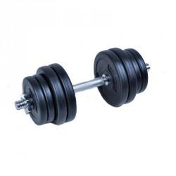 Egykezes súlyzó szett, 15 kg, cementes Sportszer Spartan