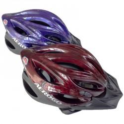 Kerékpáros sisak Aerogo piros Black Friday Spartan