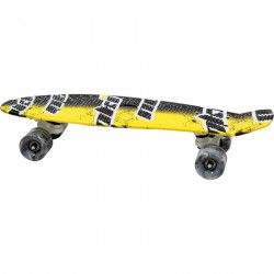 Plastik board 22.5 sárga-fekete BLACK FRIDAY Spartan