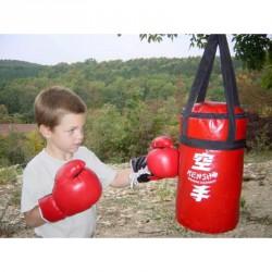 Gyerek boksz szett piros Sportszer Kensho
