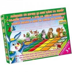 Játszva tanulni: Nyuszifutam Szórakoztató játékok