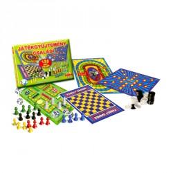 Family games 125 féle társasjáték Szórakoztató játékok