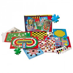 Játékgyűjtemény 127 féle társasjáték Szórakoztató játékok