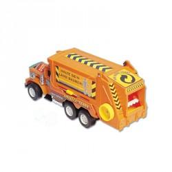 Turbo Truck szemeteskocsi Munkagép játékok