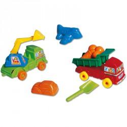 Multi truck + homokozó Játék