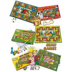 Mini társasjáték mix Szórakoztató játékok