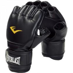 Grappling kesztyű Everlast műbőr fekete Sportszer Everlast