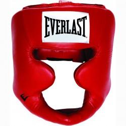 Arc és állvédős Fejvédő Everlast piros Sportszer Everlast