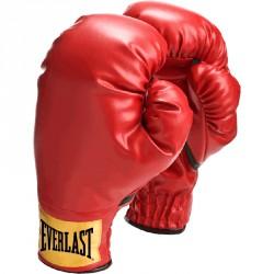 Gyerek bokszkesztyű Everlast piros