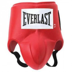 Bőr szuszpenzor Everlast piros Sportszer Everlast
