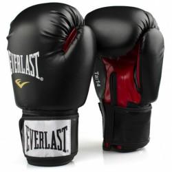 Bokszkesztyű Everlast habosított bélés fekete 8 oz Sportszer Everlast