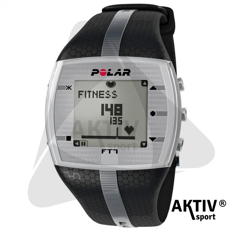 Polar FT7 Férfi pulzusmérő óra fekete szürke csíkkal - Sportórák ... f02a43275d