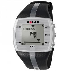 Polar FT7 Férfi pulzusmérő óra fekete szürke csíkkal Sportórák, lépésszámlálók Polar