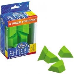 A-Ha! Brainteasers - 4-Piece Pyramid Logikai Játék