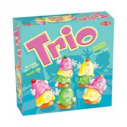 Trio Fagyis Társasjáték + 1 db Ajándék M ini Járgány Logikai játékok