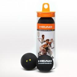 HEAD Championship squash labda 3 db Kiegészítők Head