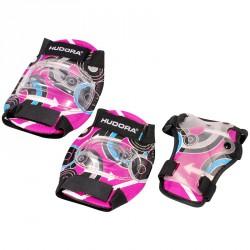 Védőszett Hudora Style rózsaszín Sportszer Hudora
