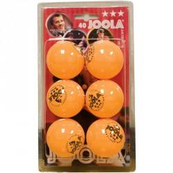 Pingponglabda Joola Rossi *** sárga 6 db Ping-pong labda Joola