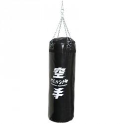 Bokszzsák 100x30 cm fekete Sportszer Kensho