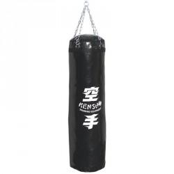 Bokszzsák 160x35 cm fekete Sportszer Kensho