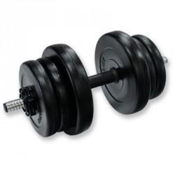 10 kg-os műanyag súlyzókészlet Sportszer